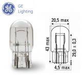 Автомобилна лампа, 12VDC, 21W, 5W, W21/5W, W3x16q