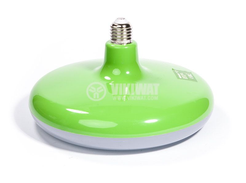 LED bulb, E27, 32W, 2500lm, 6400K, green - 7