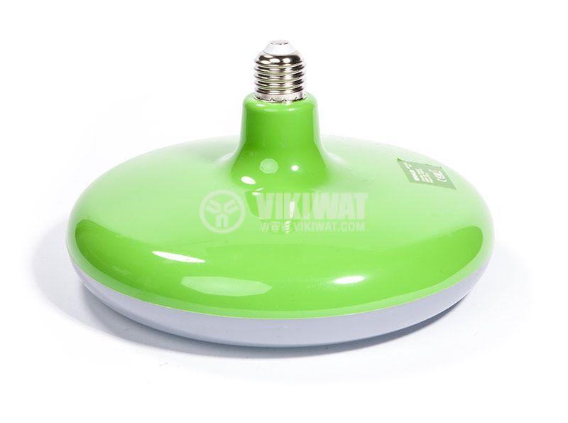 LED bulb, E27, 32W, 2500lm, 6400K, green, BB01-53223 - 1