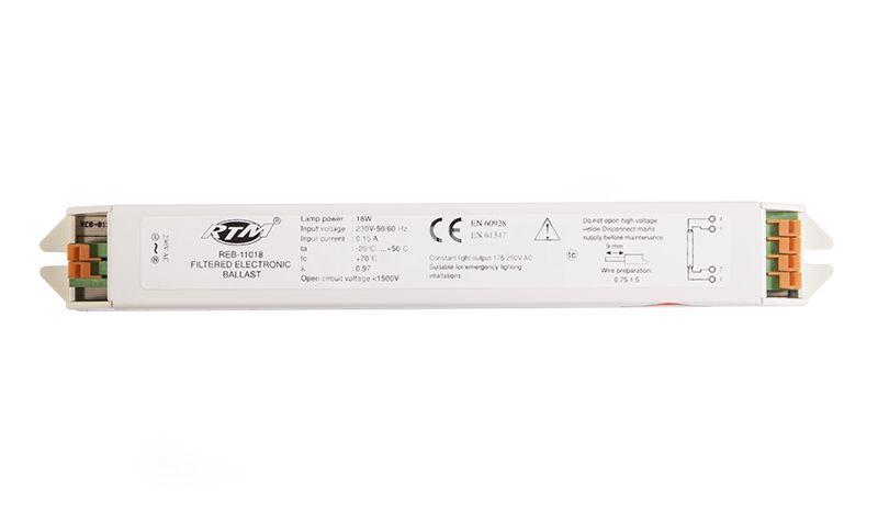 Електронен бaласт, 220 VAC, 1x18 W - 1