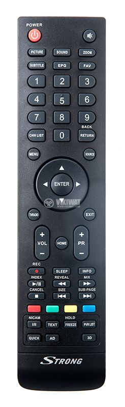 TV remote control for SRT 32HX4003 or SRT32 series - 1
