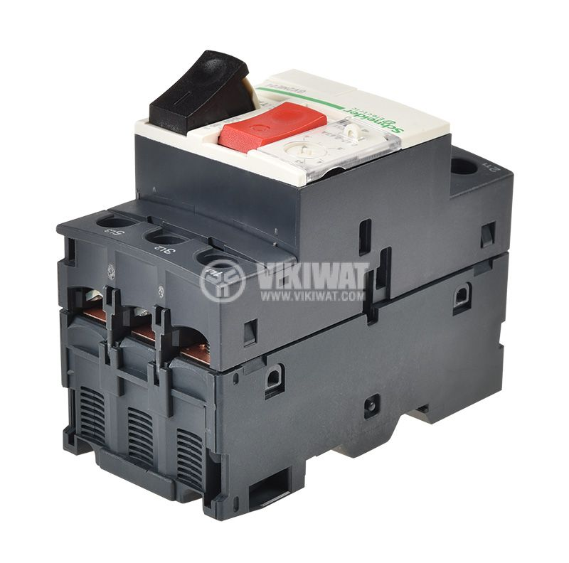 Circuit Breaker GV2ME04 with thermal current - 3