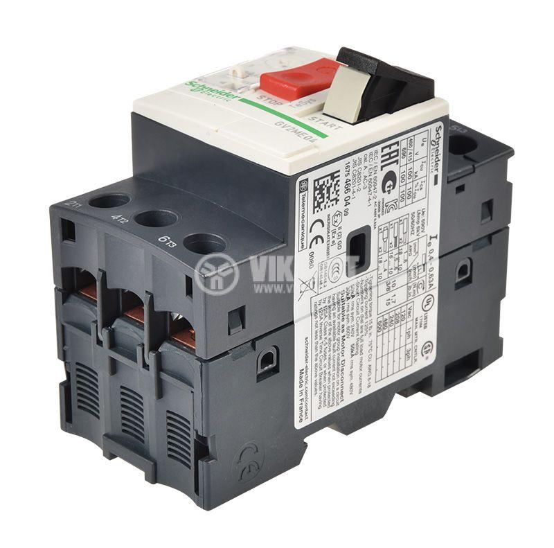 Моторна термично-токова защита, GV2ME04, трифазна  - 4