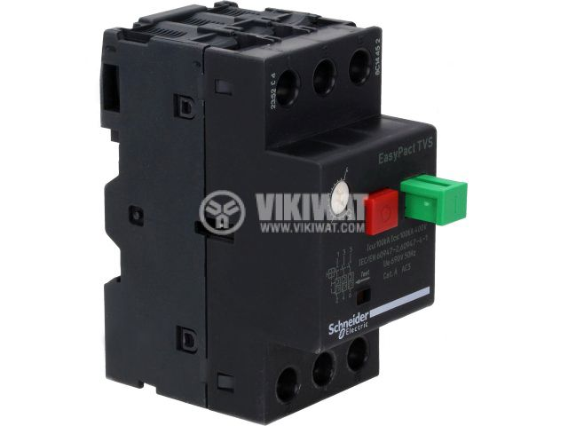 Circuit Breaker With Thermal-Magnetic Trip, GZ1МЕ03, three-phase, 0.25 - 0.4A