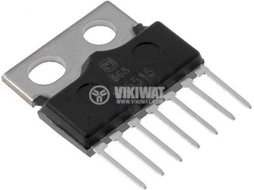 Интегрална схема AN5521, TV vertical deflection output, 7-pin SIL
