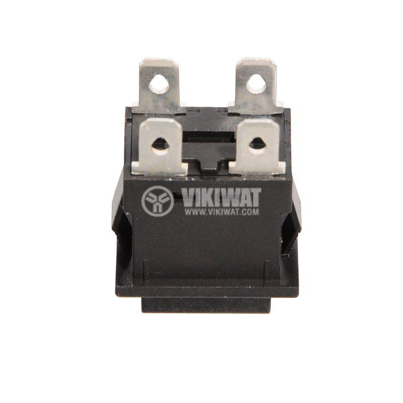 Button, PS102, 16A/250VAC, DPST NO, irretentive - 2