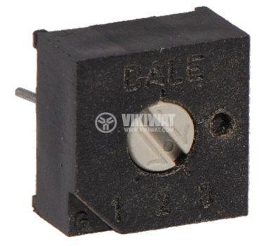 Тример потенциометър еднооборотен линеен, 50 Ohm - 1