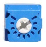 Тример потенциометър еднооборотен линеен, 200 kOhm, 0.5 W - 2
