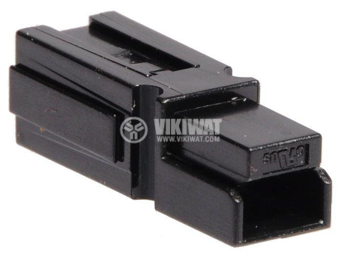 Plug 40А, 600V, black - 1