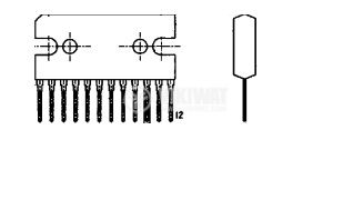 Интегрална схема BA3906, power supply for car radio - 2