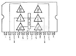 BA5402 двоен аудио усилвател SIP12 - 2