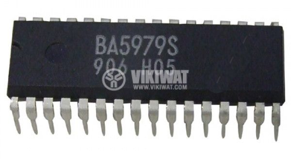 Интегрална схема BA5979S,4-channel BTL driver for CD players, DIP32