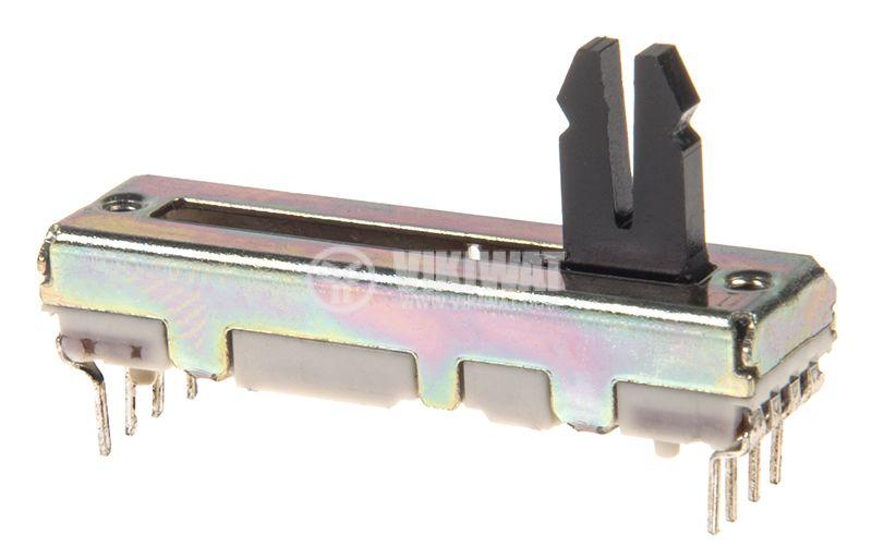 Потенциометър линеен стерео - 2