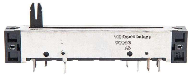 Потенциометър 100kOhm 0.25W - 1