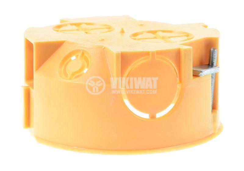 Универсална кутия, конзола KU 68-71L1, за стени от гипсокартон - 3