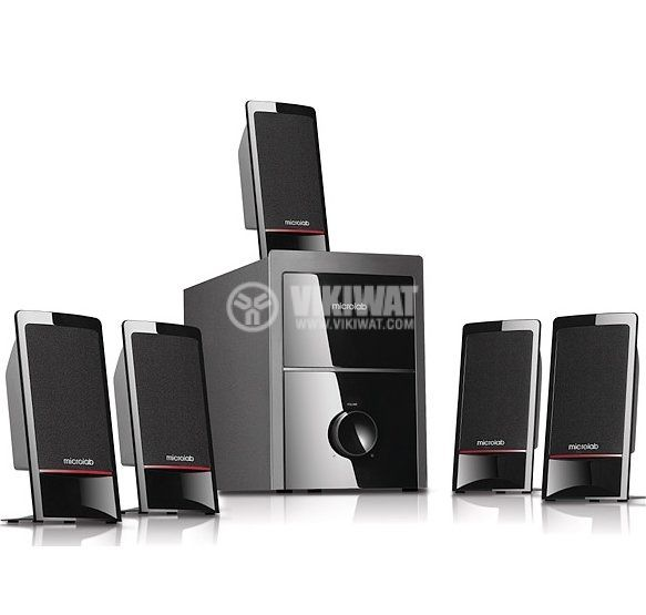 Speakers 5.1, Microlab M-700, 62W - 1