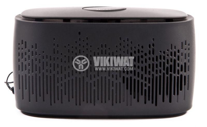 Bluetooth портативна тонколона, L3, черна, FM, USB - 1