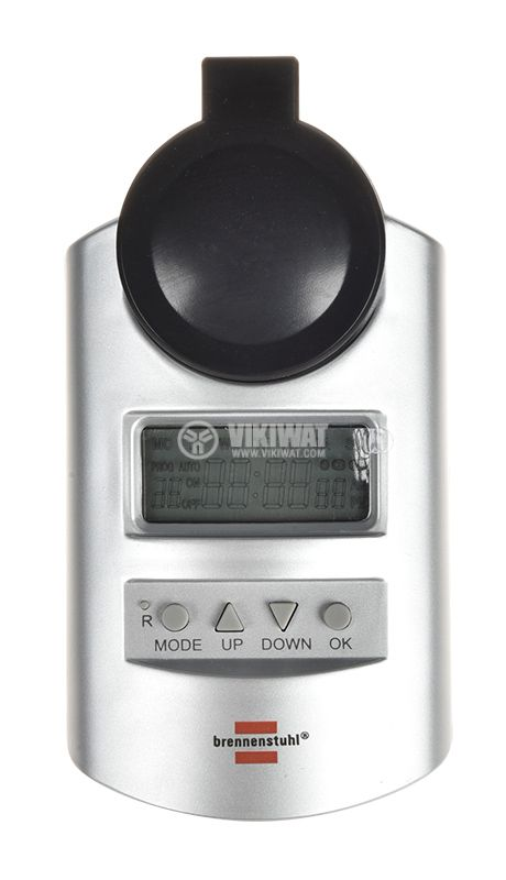 Програматор за контакт, електронен таймер, 24-часов, DT IP44 Brennenstuhl - 3