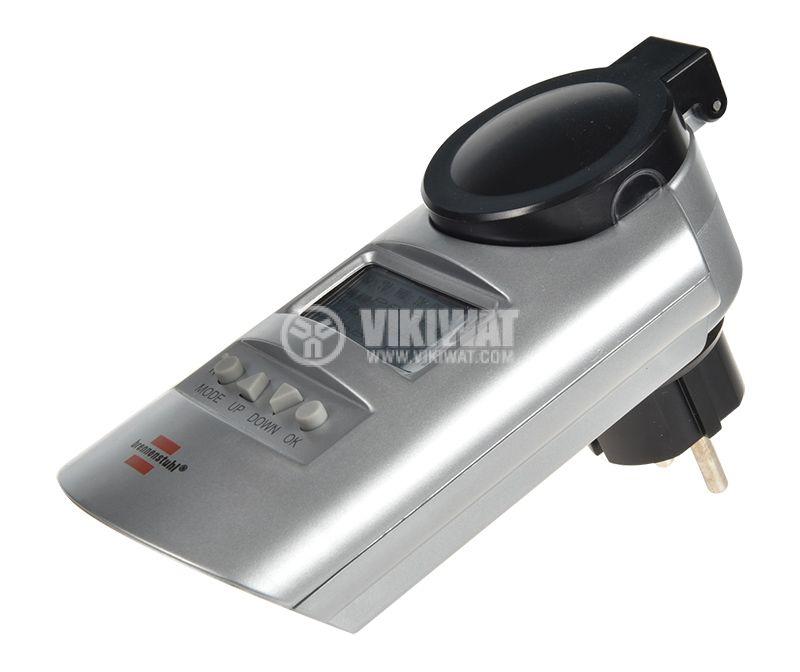 Седмичен електронен таймер, 24-часов, DT IP44 V2, 16А, 230VAC - 4