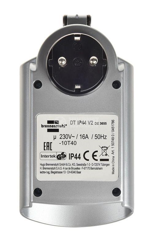 Седмичен електронен таймер, 24-часов, DT IP44 V2, 16А, 230VAC - 5