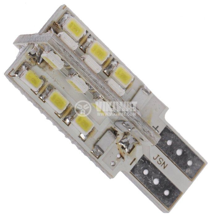 Auto LED lamp, 12V, 24 LED, W2.1x9.5d
