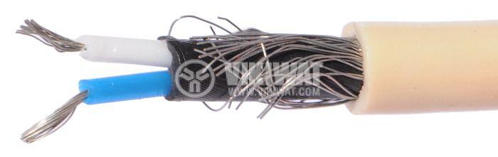 ТЧП екраниран кабел 2x0.14mm