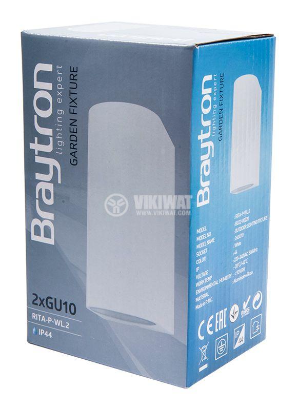 LED garden light RITA, 220VAC, 2xGU10, IP44, BG32-00220 - 10