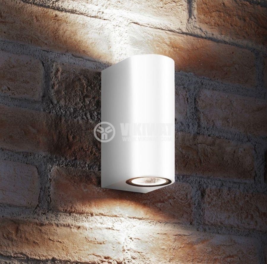 LED garden body RITA-P, 220VAC, 2xGU10, IP44, waterproof, BG32-00220, white - 2