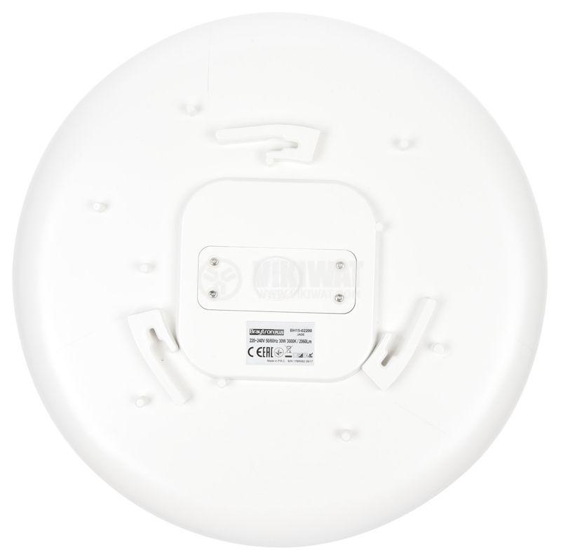 Platen JADE, 30W, 220VAC, 2060lm, 3000K, IP44, BH15-02200 - 6