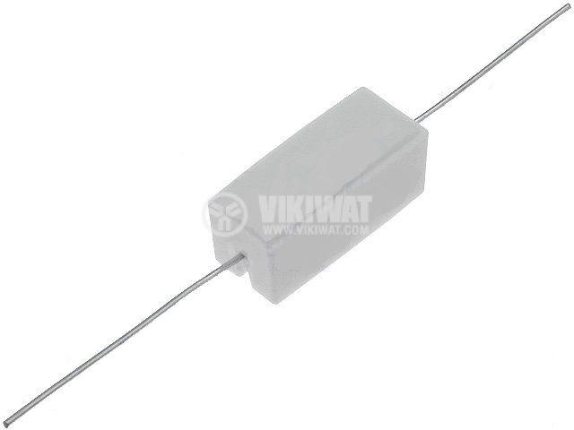 Резистор 0.1 Ohm, 5 W, 5 %, керамичен