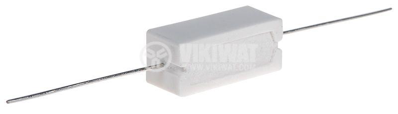 Резистор 220mohm, 5W, ±5%, жичен - 2