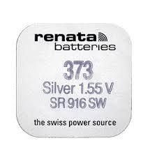 Плоска батерия 373, 1.55V, 23mAh - 2