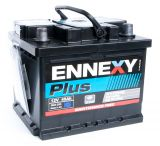 Car battery, 45Ah, starter, 12VDC, ENNEXY Plus