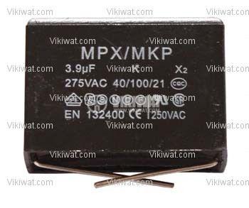 Кондензатор полипропиленов 3.9 uF 275 V x2