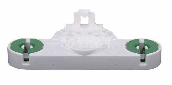 Цокъл за луминесцентна лампа T8, G13, двоен