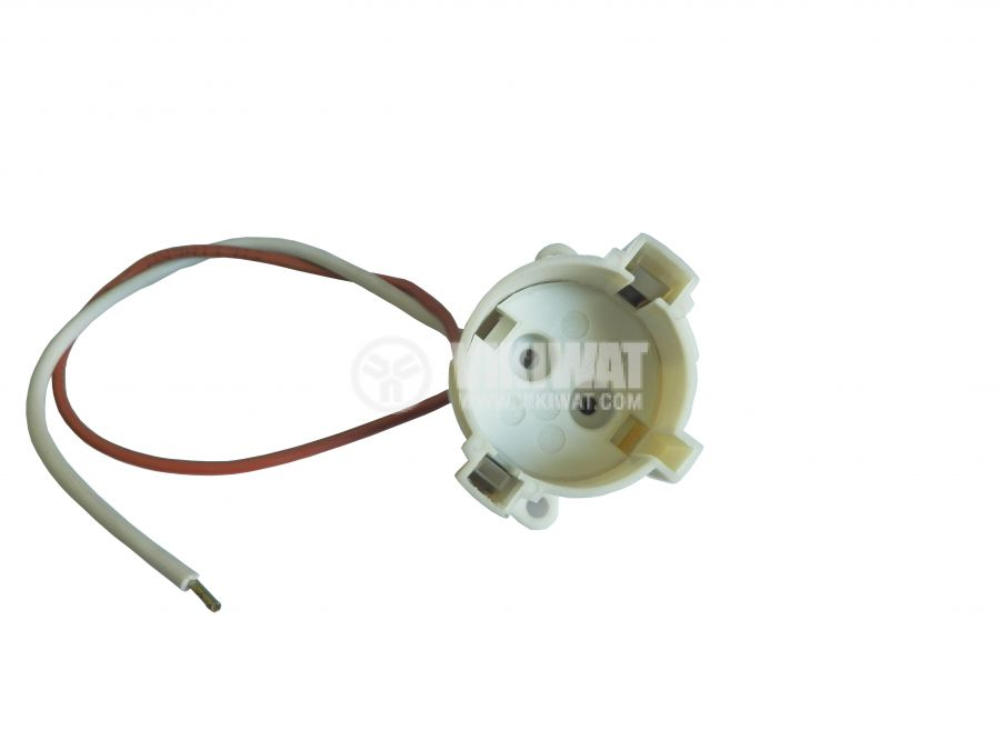 Socket for halogen lamps and ampoules G12
