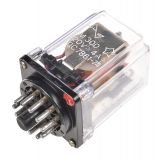 Реле електромагнитно РМ300, бобина 12VDC, 220VAC/4A, 3PDT 3NO+3NC