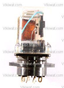 Електромагнитно реле, РМ200, 24VDC 220VAC/4A DPDT 2NO+2NC - 1