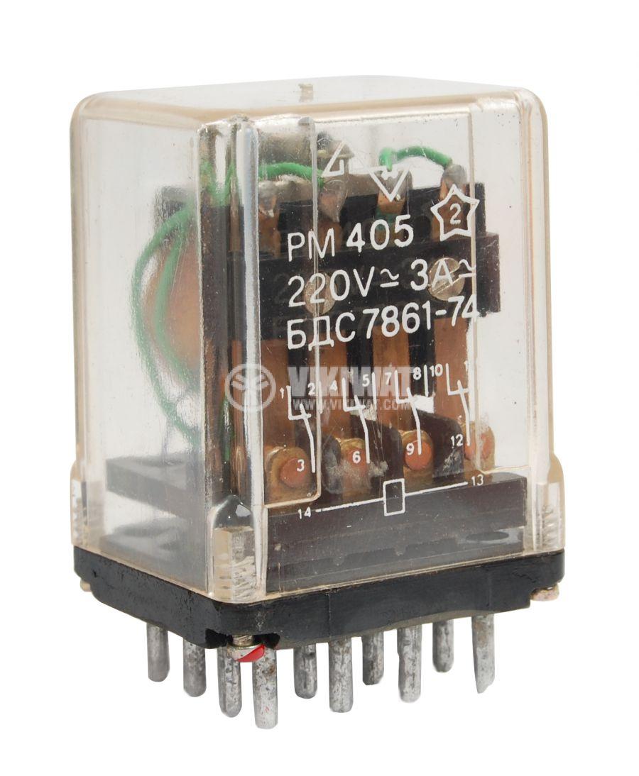 Реле електромагнитно PM405 - 1