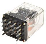 Електромагнитно реле, PM405, 36VAC 220VAC/3A 4PDT 4NO+4NC