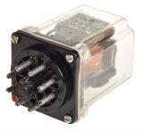 Реле електромагнитно РМ200, бобина 48VDC, 220VAC/4A, DPDT 2NO+2NC
