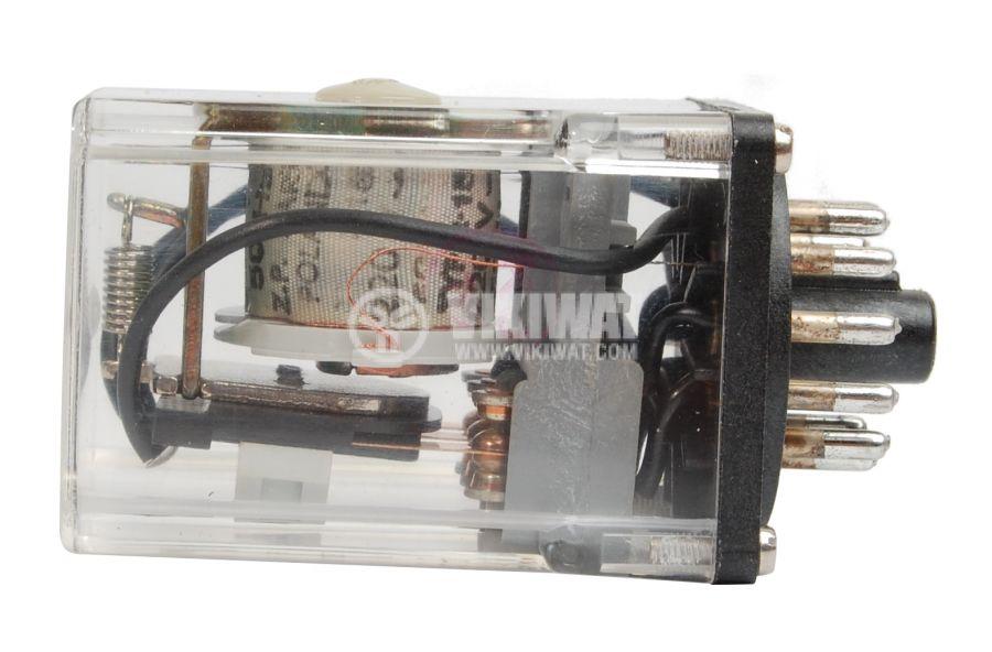 Електромагнитно универсално реле, R15, 220VAC, 220VAC/10A, 3PDT - 3NO+3NC - 2