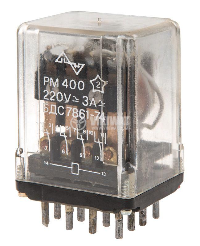 Реле електромагнитно PM400 - 1