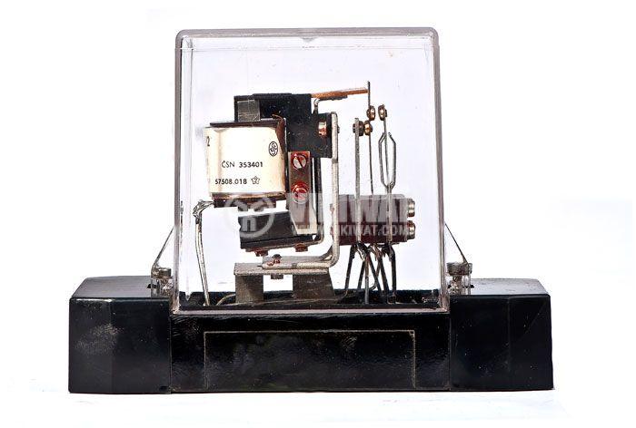 Електромагнитно реле универсално бобина 24VAC 250VAC/10A 3PDT - 3NO+3NC RP92