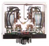 Електромагнитно специално реле – тип тригер с 2 бобини 110 VАC,  250 VAC, 3 A, MKW33P   - 2