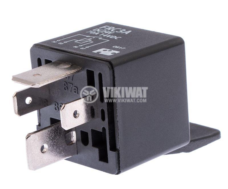 Реле електромагнитно, 24VDC, 70A РП, FRC3A-DC24 - 4