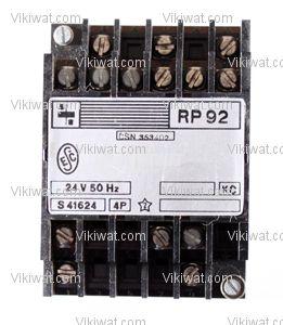 Електромагнитно реле универсално бобина 24VAC 250VAC/10A 4PDT 4NO+4NC RP92