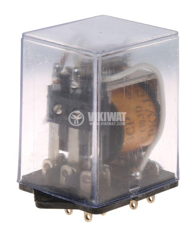 Електромагнитно реле универсално,  RKY, 24VDC 250VAC/5A 3PDT 3NO+3NC - 2