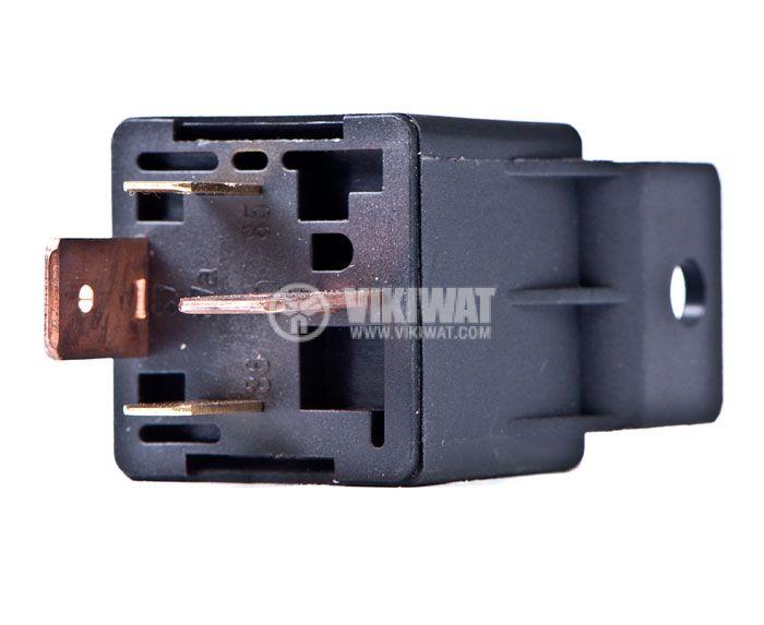 Електромагнитно автомобилно реле бобина 12VDC 14VDC/70A SPST - NO AS403G70A  - 3