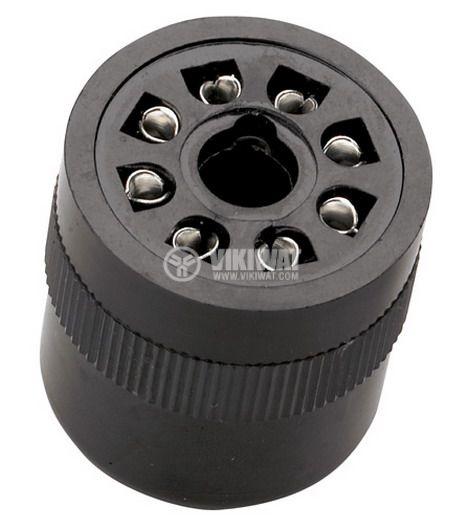 Relay Socket US08, 300 VAC, 10 A, 8pin - 1